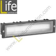 102/LED/3W/30K-GREY APLIQUE EXTERIOR W LED 3000K IP54 COLOR GRIS 220V-