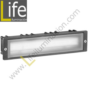 102/LED/3W/30K-GREY APLIQUE EXTERIOR W LED 3000K IP54 COLOR GRIS 220V-