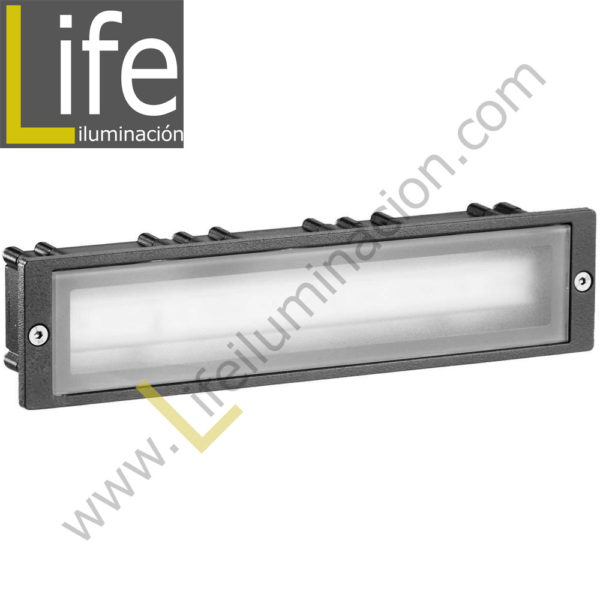 102/LED/3W/30K-GREY APLIQUE EXTERIOR W LED 3000K IP54 COLOR GRIS 220V- 1