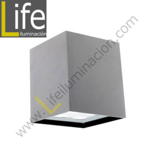 111/LED/6W/30K-WH/M APLIQUE EXTERIOR 6W LED 3000K IP54 COLOR BLANCO MU