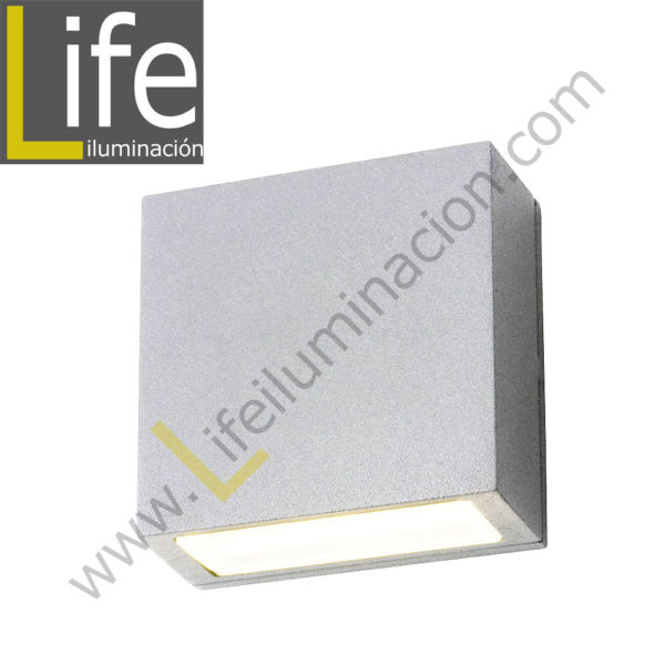 112/LED/6W/30K-WH/M APLIQUE EXTERIOR 6W LED 3000K IP54 COLOR BLANCO MU 1