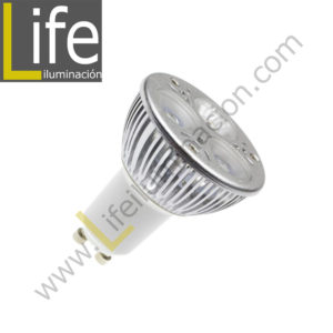 GU10/LED/3W/30KB/M LAMPARA LED GU10 LIGHTECH 3W 30KB DOBLE BLISTER M