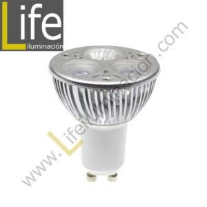 GU10/LED/5W/30K/220V LAMPARA LED GU10 5W 3000K 330LM 220V-60HZ