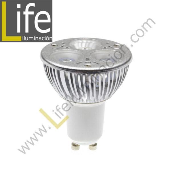 GU10/LED/5W/30K/220V LAMPARA LED GU10 5W 3000K 330LM 220V-60HZ 1