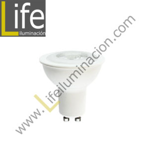 GU10/LED/8W/27K/DIM LAMPARA GU10 LED 8W DIMMABLE COB 3000K MULTIVOLTAJE