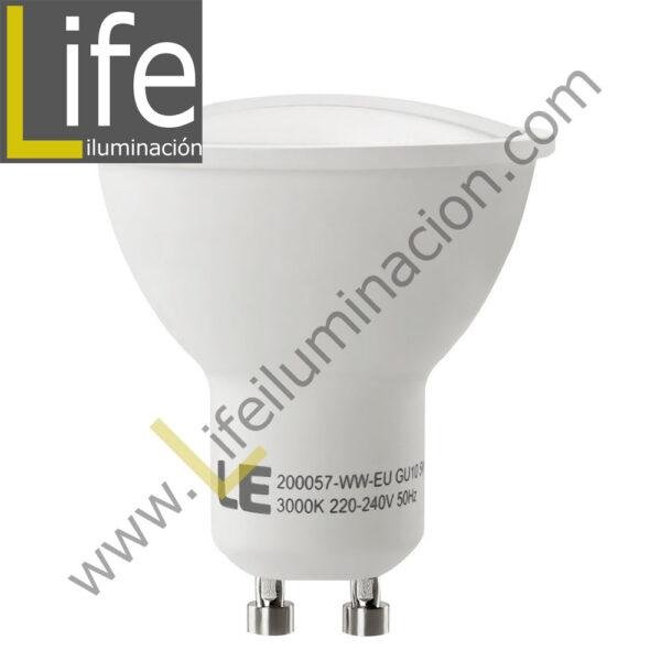 GU10/LED/9W/30K-B/M LAMPARA LED 9W GU10 3000K MULTIVOLTAJE DOBLE BLISTER 1