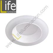 600/LED/12W/30K/WH DOWNLIGHT LED 12W 3000K 90° IP44 C/BLANCO 220V/60