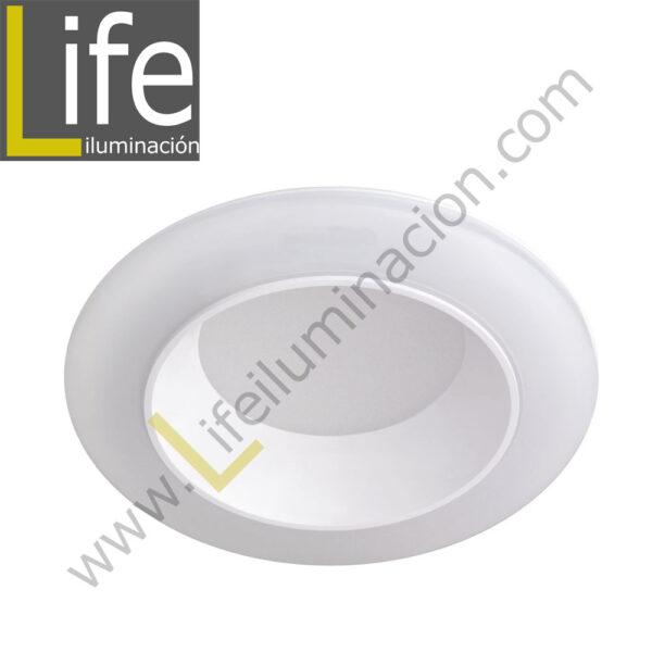 600/LED/12W/30K/WH DOWNLIGHT LED 12W 3000K 90° IP44 C/BLANCO 220V/60 1