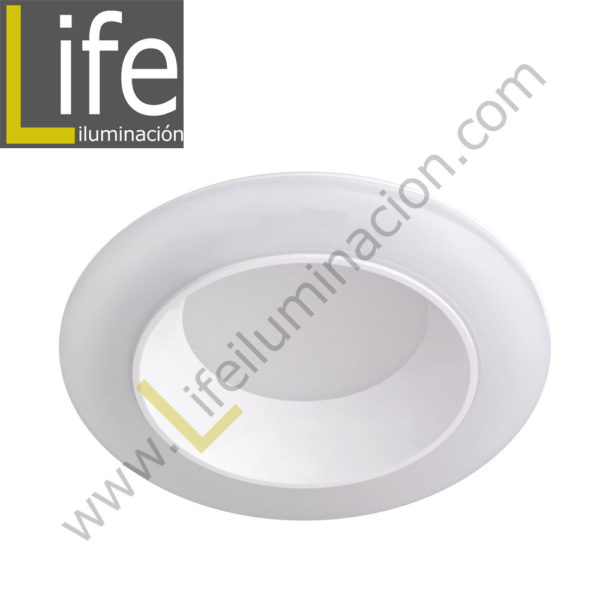 600/LED/12W/60K/WH DOWNLIGHT LED 12W 6000K 90° IP44 C/BLANCO 220V/60 1