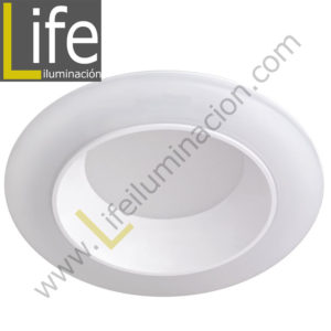 600/LED/17W/40K/WH DOWNLIGHT LED 17W 4000K 90° IP44 C/BLANCO 220V/60