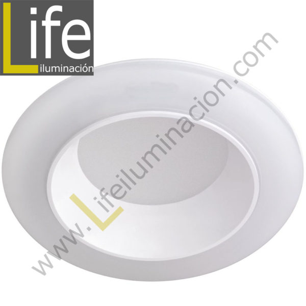 600/LED/20W/30K/WH DOWNLIGHT LED 20W 3000K 90° IP44 C/BLANCO 220V/60 1