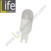 G9/LED/2.5W/60K-B LED G9 2.5W/6000K 220V/60HZ 120LM