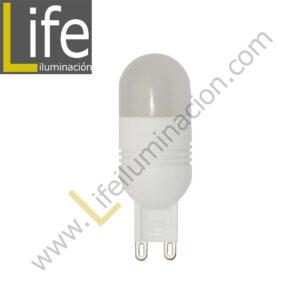 G9/LED/3W/27K/220V LAMPARA LED 3W G9 2700K 220V/60HZ