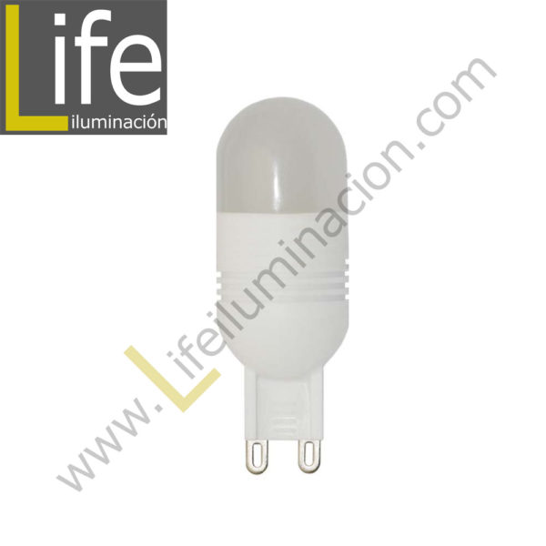 G9/LED/3W/27K/220V LAMPARA LED 3W G9 2700K 220V/60HZ 1