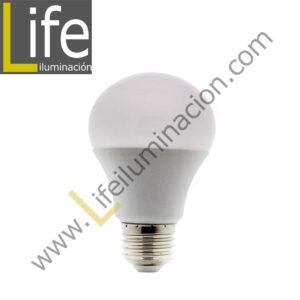 GLOB/LED/10W/60K/M-B FOCO BOLA LED A60 10W 6000K MULTIVOLTAJE