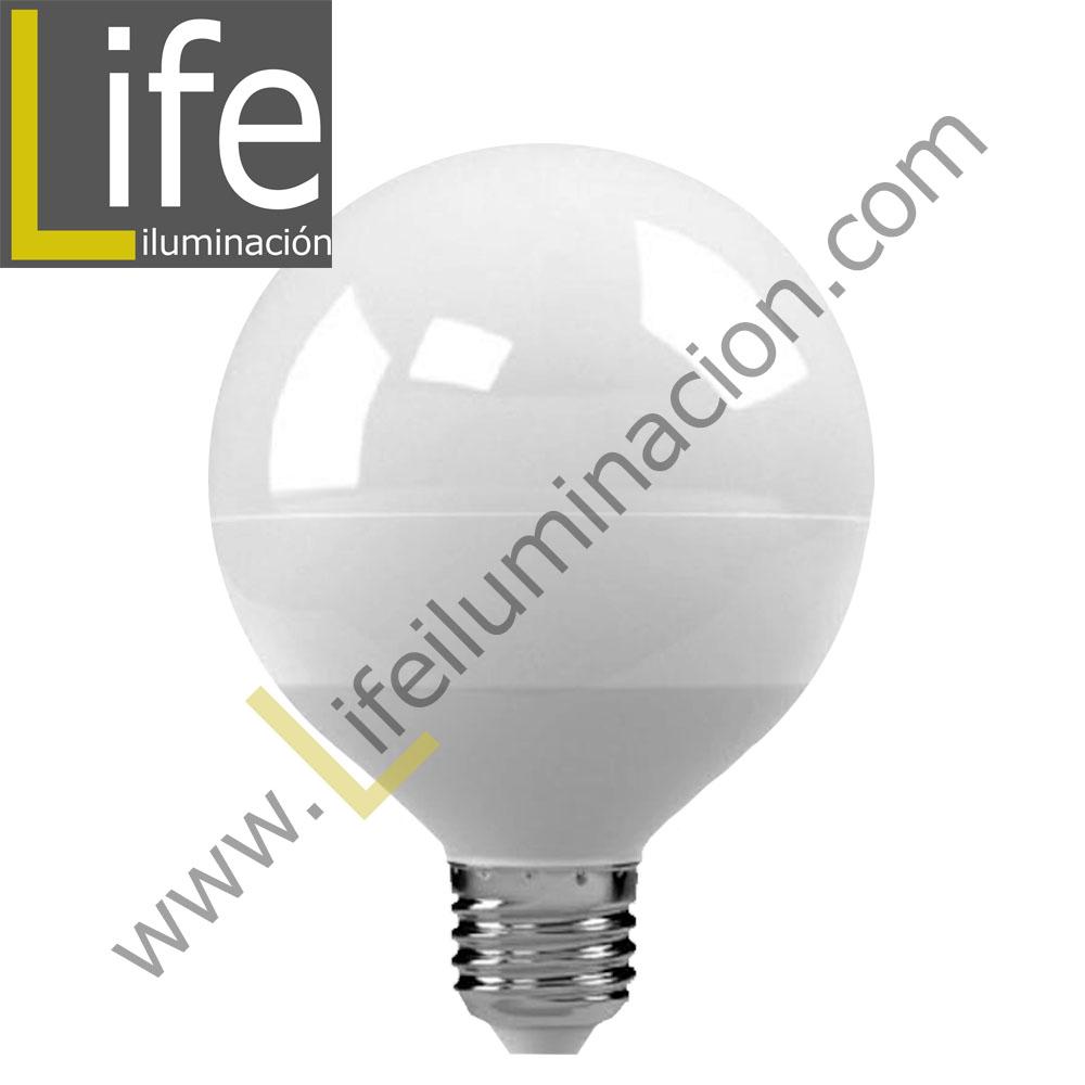 GLOB/LED/18W/30K/220V FOCO GLOBO LED 18W 3000K E27 1400LM