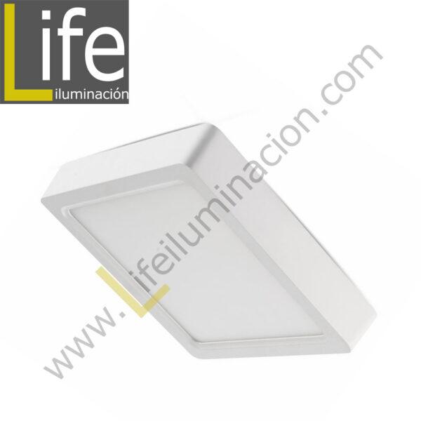 101C/LED/12W/30K/WH/M DOWNLIGHT LED CUAD