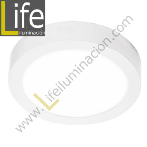 101R/LED/18W/60K/WH/M DOWNLIGHT LED CIRC. ADOSAR 18W/60K BLANCO MULTIVOL