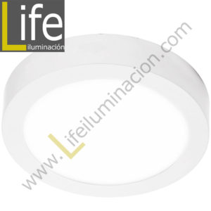 101R/LED/24W/30K/WH/M DOWNLIGHT LED CIRC. ADOSAR 24W/30K BLANCO MULTIVOL