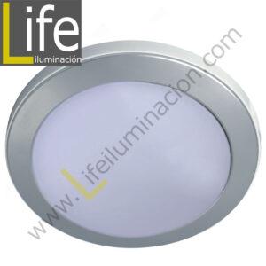 104RE/LED/6W/30K/WH/M SPOT LED RENDONDO EMP.6W/30K/SL 9.7X4CM MULTIVOLTA