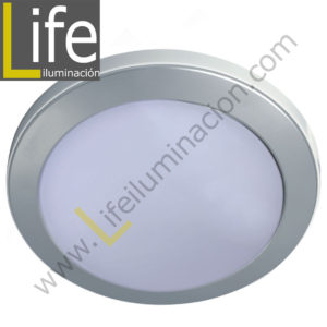 104RE/LED/6W/60K/WH/M SPOT LED RENDONDO EMP.6W/60K/SL 9.7X4CM MULTIVOLTA