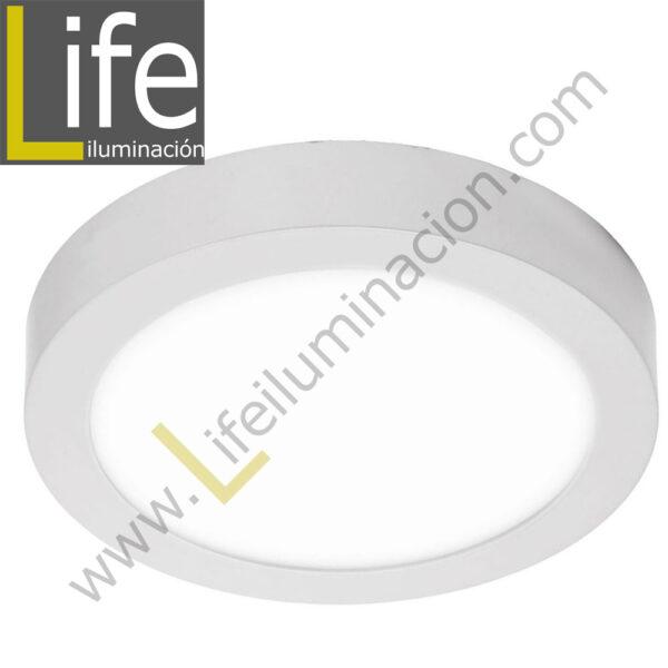 106R/LED/22W/30K/WH/M DOWNLIGHT LED CIRC. ADO