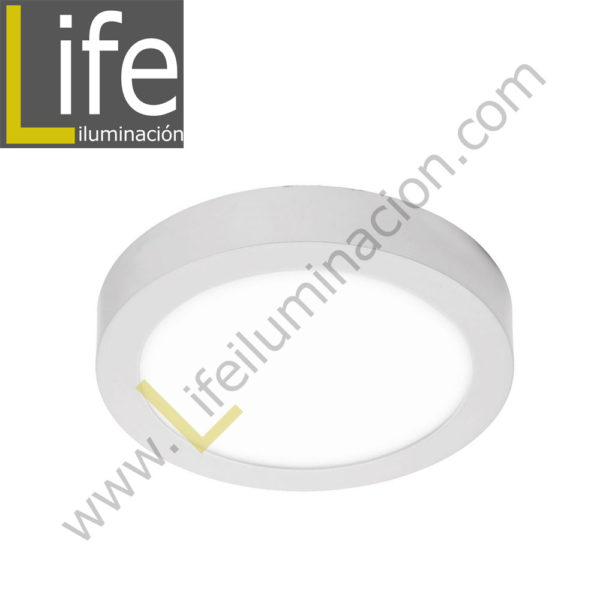 106RA/LED/15W/30K/WH/M DOWNLIGHT LED CIRC.ADO.15W/30K/BL 17.5X4