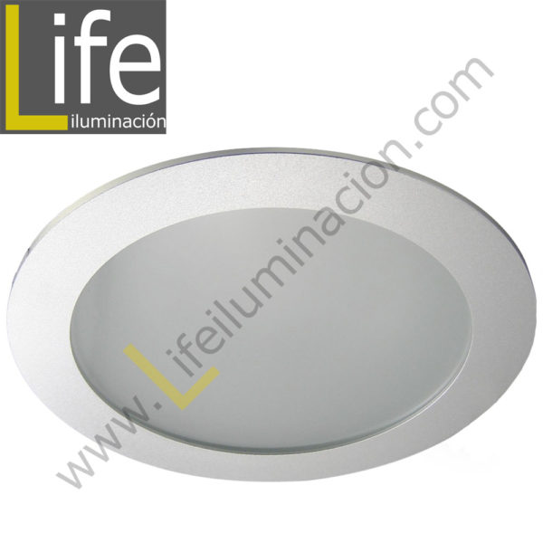 DOWN/LED/20W/40K/M DOWNLIGHT PANEL LED 20W 4000K SILVER MULTIVOLTAJE 1
