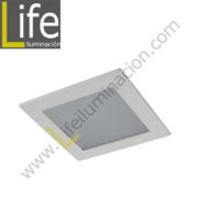 DOWN/SQ/LED/12W/30K/WH DOWNLIGHT LED CUAD. EMP. 12W/30K/WH 17.2X17.2X2CM