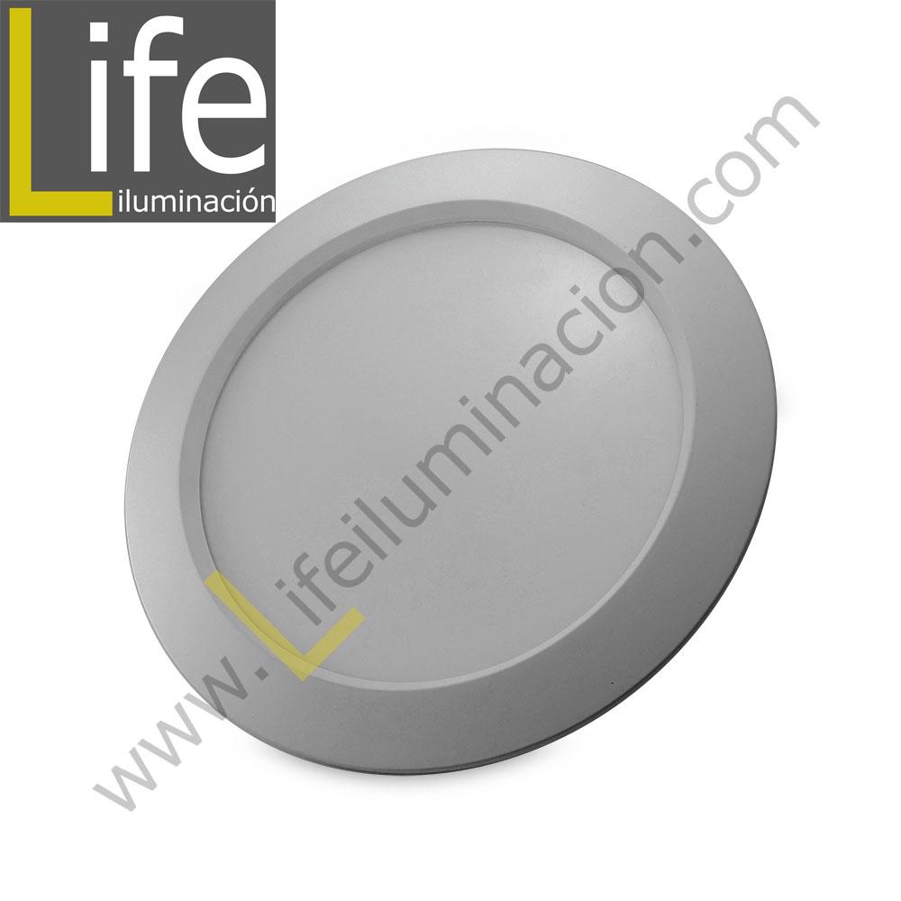 SPOT/E/LED/7W/30K/SL/M SPOT PARA EMPOTRAR LED 7W/3000K D=11.5CM SILVER MU
