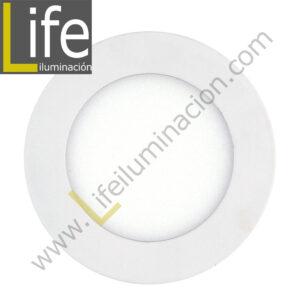 SPOT/E/LED/7W/30K/WH/M SPOT PARA EMPOTRAR LED 7W/3000K D=11.5CM BLANCO MU