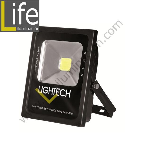 REF/20W/LED/60K/M REFLECTOR LED 20W IP65 85-265V 6000K – 1350LM 140º ANGULO DE RADIACION IP66 SIMETRICO 1