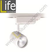 100/LED/18W/30K/WH/M SPOT LED P/ RIEL 18W 30K WH D:7.6X17.1CM MULTIVOLT