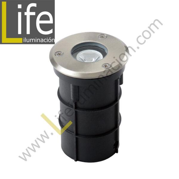 800/LED/7W/30K/M SPOT DE PISO LED 7W 3000K IP65 60° MULTIVOLTAJE 1