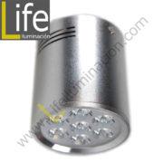 SPOT/LED/12W/30K/SL/M SPOT PARA ADOSAR LED 12W/3000K D=10CM SILVER MULTI