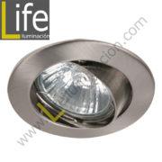 SPOT/LED/5W/SL/60K/M SPOT LED P/EMPOTRAR 5W/6000K D=8.7CM SILVER MULTI