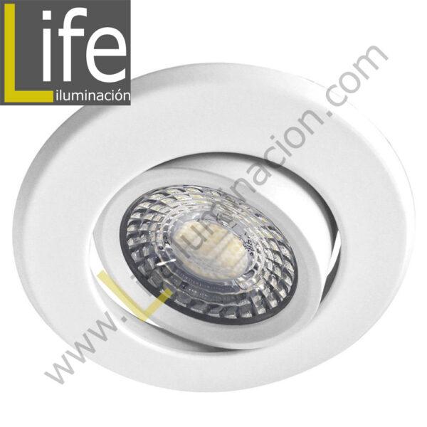 SPOT/LED/5W/WH/30K/M SPOT LED P/EMPOTRAR 5W/3000K D=8