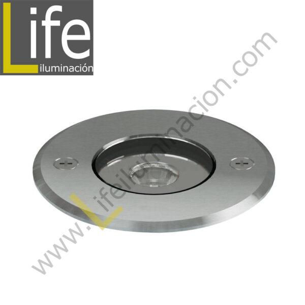 UC220/LED/15W/30K/M SPOT PISO LED COB 15W 30K CENTRAL FROST IP65 D=18CM H=12CM MULTIVOLTAJE 1
